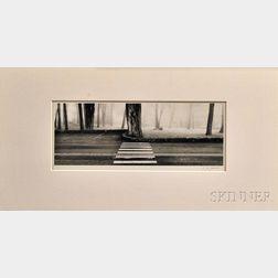 Lyle Gomes (American, b. 1954)      Elevated Roadway, Presidio of San Francisco