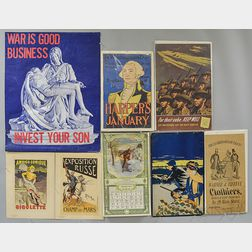 Group of Advertisements and Posters