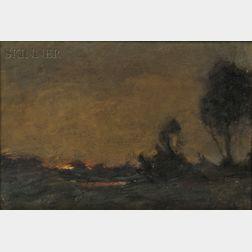 Joseph Frank Currier (American, 1843-1909)      Sunrise