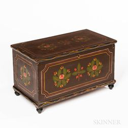 Polychrome Painted Box