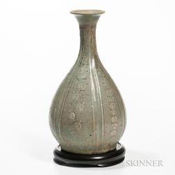 Sanggam   Celadon Stoneware Bottle
