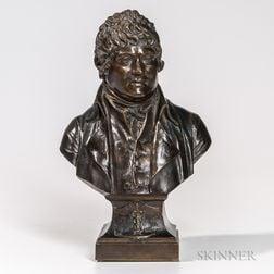 Bronze Bust of a Physician