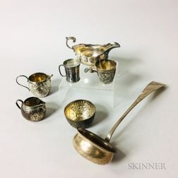 Group of Continental Silver Tableware