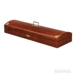 "English Mahogany ""Apostle"" Violin Case, W.E. Hill & Sons"