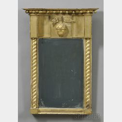 Federal Carved and Gilt-gesso Mirror