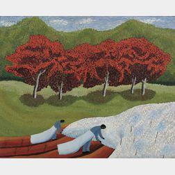 Theora Hamblett (American, 1893-1977)      Cotton Pickers
