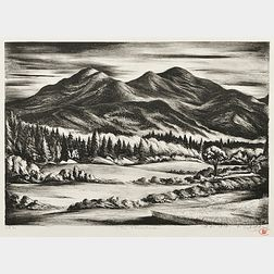 Benton Murdoch Spruance (American, 1904-1967)      The Adirondacks