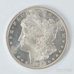 1882 Morgan Dollar.