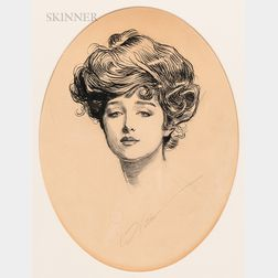 Charles Dana Gibson (American, 1867-1944)      The Gibson Girl
