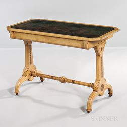 Marsh and Jones Bleached Mahogany Writing Table