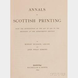 (History, Printing)