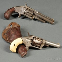 Two Spur-trigger Revolvers