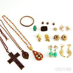 Group of Ethnic Jewelry