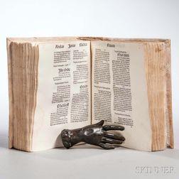 Marchesinus, Johannes (b. circa 1300) Mammotractus super Bibliam.