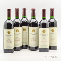 Dalla Valle Cabernet Sauvignon 1995, 6 bottles