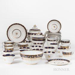 Partial Assembled English Porcelain Tea Service