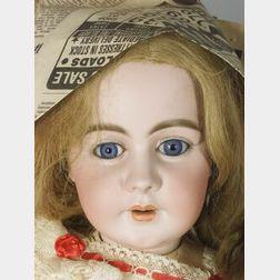 Very Large Simon Halbig 939 Bisque Head Doll