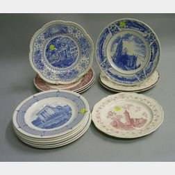 Fourteen Wedgwood Collector's Plates