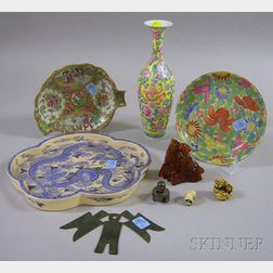 Ten Assorted Asian and Asian-style Items