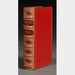 Walton, Izaak (1593-1683), (Decorative Binding)