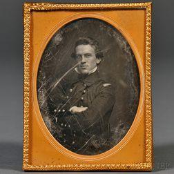Sixth-plate Daguerreotype of Passed Midshipman Kidder Randolph Breese, U.S.N.