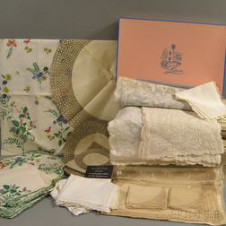 Large Group of Table Linens
