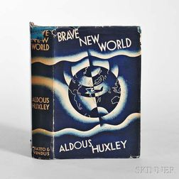 Huxley, Aldous (1894-1963) Brave New World  , First Edition.
