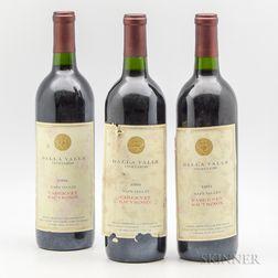 Dalla Valle Cabernet Sauvignon 1993, 3 bottles