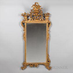 Rococo Gilt-gesso Mirror