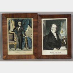 Two Framed Presidential Prints
