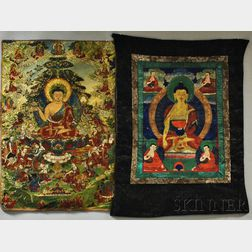 Three Thangkas
