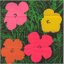 After Andy Warhol (American, 1928-1987)      Flowers  /A Mailer for Andy Warhol