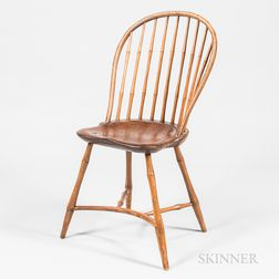 Windsor Bamboo-turned Bow-back Side Chair