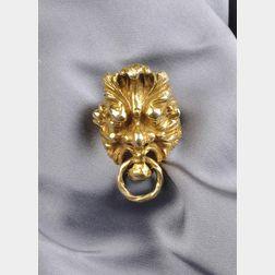 Artist-designed 14kt Gold Ring, Eric de Kolb