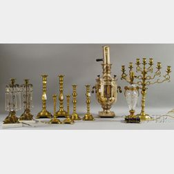 Group of Decorative Metal and Brass Articles