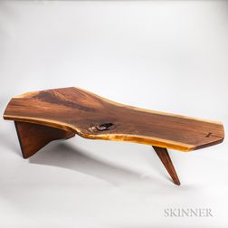 George Nakashima (1905-1990) Walnut Coffee Table
