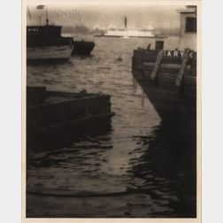Karl Struss (American, 1886-1981)      On the East River, New York