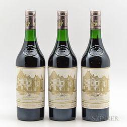Chateau Haut Brion 1983, 3 bottles