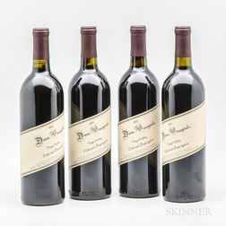 Dunn Vineyards Napa Valley Cabernet Sauvignon 1995, 4 bottles