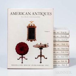 Israel Sack, American Antiques, Vols. 1-10