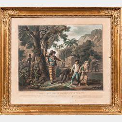 Virginie Demandant le Grace d'une Esclave   (Paul and Virginia Obtaining the Pardon of a Runaway Slave  )
