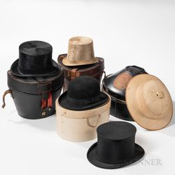 Group of Hats with Boxed Examples