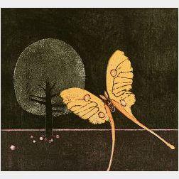 Walter Williams (American/Danish, b. 1920)  Moon Moth,