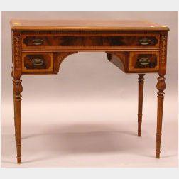 Louis XVI Style Inlaid Tulipwood Poudreuse.