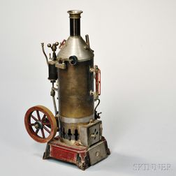 Bench-made Model of a Steam Boiler