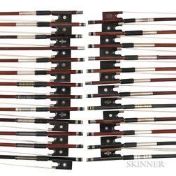 Twenty-five Violin Bows