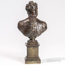 Bronze Bust of George IV