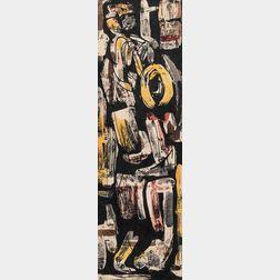 James Brooks (American, 1906-1992)      Jazz Scene #2