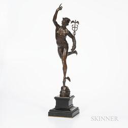 Barbedienne Grand Tour Bronze Model of Mercury
