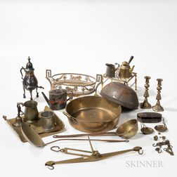 Group of Metalware